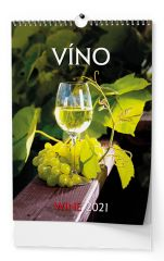 Kalendář nástěnný - Víno / BNF1