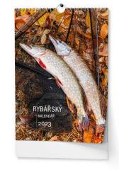 Kalendář nástěnný - Rybářský / BNF4 / A3