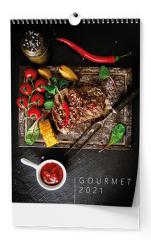Kalendář nástěnný - Gourmet / BNG11 / A3