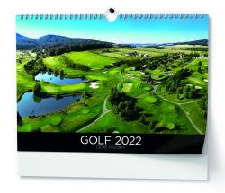 Kalendář nástěnný - Golf / BNS3