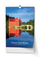 Kalendář nástěnný - Česká republika / BNK0