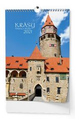 Kalendář nástěnný - Krásy Moravy a Slezska / BNF7
