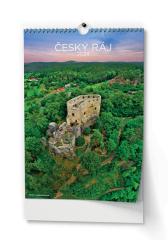 Kalendář nástěnný -  Český ráj / BNK3 / A3