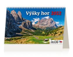 Kalendář stolní - Výšky hor / S29