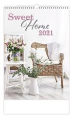Kalendář nástěnný obrázkový - Sweet Home / N143