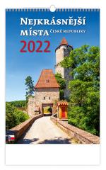 Kalendář nástěnný - Nejkrásnější místa ČR / N111