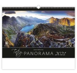 Kalendář nástěnný obrázkový - Tatry Panorama / N300