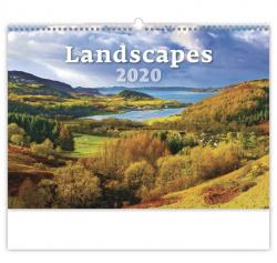Kalendář nástěnný - Landscapes - Krajiny / N128