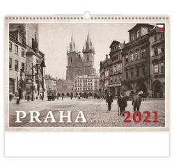 Kalendář nástěnný - Praha historická / N106