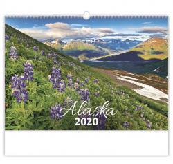 Kalendář nástěnný - Aljaška / N136