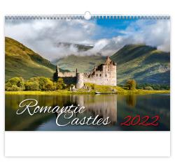Kalendář nástěnný - Romantic Castles / N135