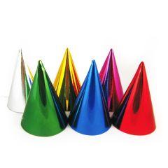 MFP papírové kloboučky metalické 6 ks