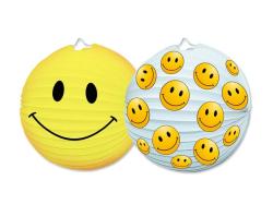Lampiony kulaté 25 cm - Smiley