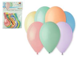 LUMA nafukovací balonky 26 cm 10 ks Pastel mix