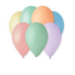 LUMA nafukovací balonky 26 cm 100 ks Pastel mix