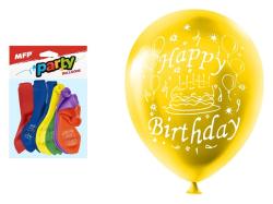 Nafukovací balonky  - vel. M / 12 ks / Happy Birthday
