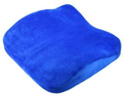 Anatomicky tvarovaý podsedák + bederní opěrka - 2 v 1 / modrá