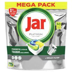Jar tablety do myčky Platinum Yellow - 60 ks