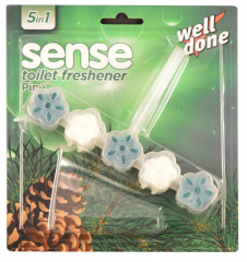 Well done Sense Pine WC blok 50 g