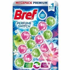 Bref WC Perfume swich kuličky 3 x 50 g