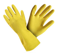 Gumové ochranné rukavice velikost S
