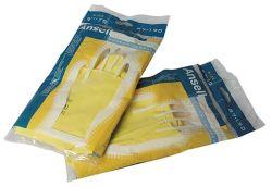 Gumové ochranné rukavice velikost M