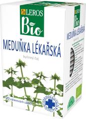 Čaj Leros BIO - Meduňka lékařská 20 x 1g