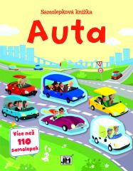 Samolepková knížka - Auta
