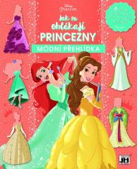 Samolepicí knížka - Jak se oblékají princezny / módní přehlídka