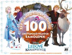 Samolepicí knížka Bav se a nalepuj znovu - Frozen 2