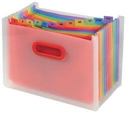 Stolní organizér s přihrádkami Snopake Rainbow - A4 / 13 přihrádek