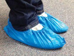 Návleky na obuv jednorázové - 100 ks / modré